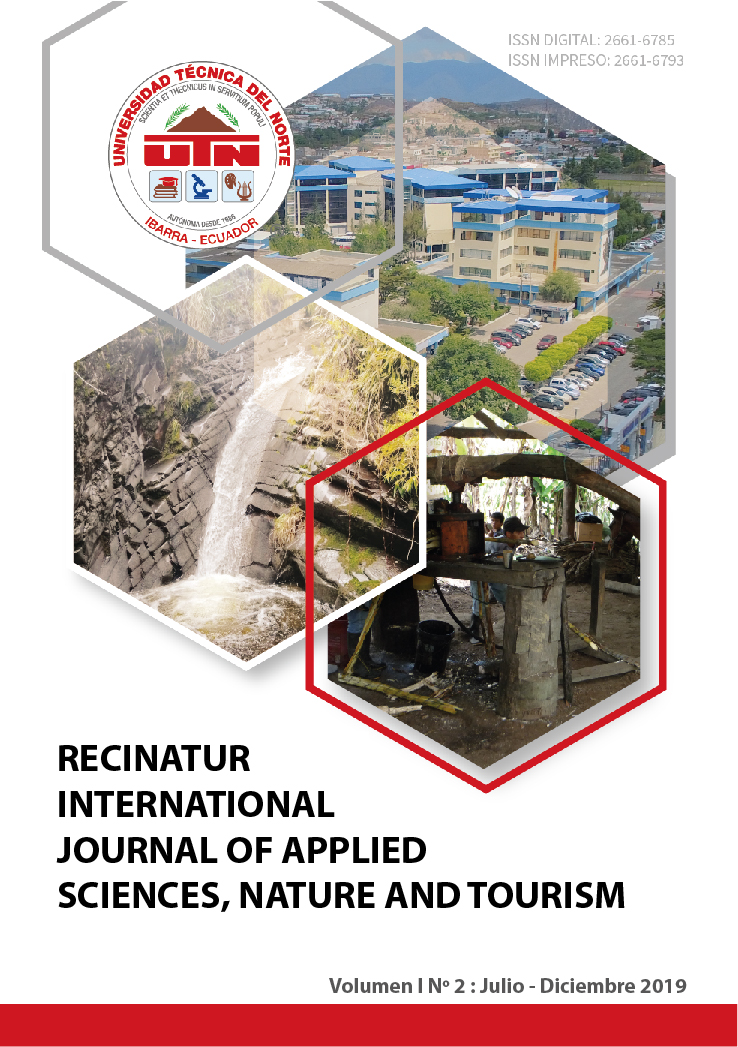 """Recinatur International Journal of Applied Sciences, Nature and Tourism"""